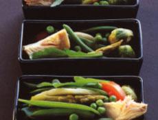 tajine froid de légumes verts