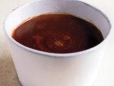 chocolat au lait épicé